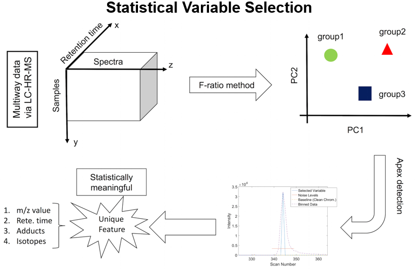 statistical variable selection